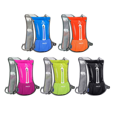 Super light Shoulder Bag  Hydration Cycling Running Vest 2L Water Pack Cross-country Marathon Bag