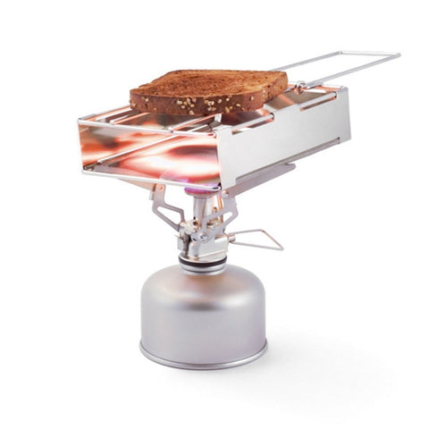 Outdoor Stainless Steel  Stove Foldable Bread Toaster