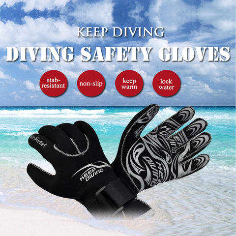 3MM  Neoprene Kayaking Diving Gloves