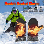 Battery Powered Electric Unisex Heated Skiing Gloves