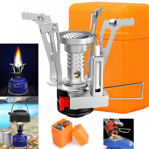 Folding Ultralight Butane Gas Portable Burner