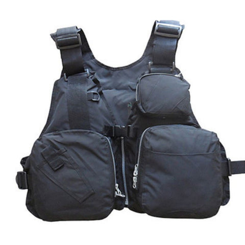 Adjustable Life Vest  Reflective  Multi Pocket