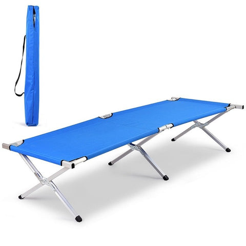 Aluminum Folding Camping Cot With Bag