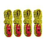 4pcs Wind Rope With S-Ring Tent Hooks