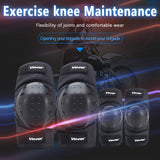4pc ABS Knee Elbow Pads