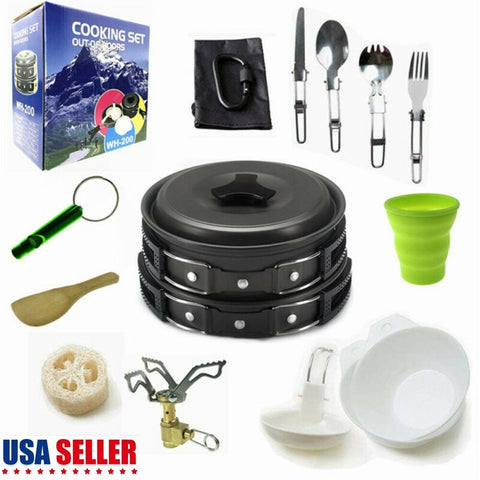 1-2 Person Cookware Set