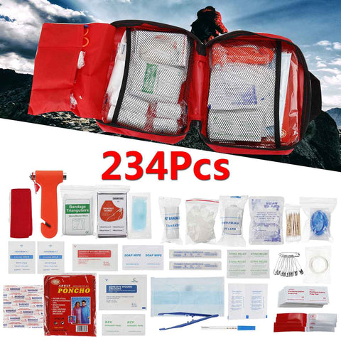 234Pcs/Set SOS Emergency Small First Aid Kit