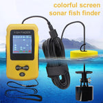 Handheld Portable Sonar Alarm Fish Depth Finder With LCD Display