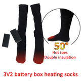 Rechargeable Electric Heating Thermal Cotton Socks