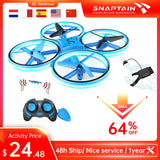 SNAPTAIN SP300 Hand Operated RC Quadcopter Toy For Kids