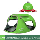 ZOMAKE Beach  Pop Up 3 Person Waterproof Tent