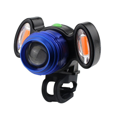 4 Modes Bicycle Front Headlight LED USB Charging