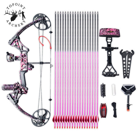 Women & Girls 19-70lbs M1 Compound Bow