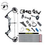1Set 19-70 lbs Archery M1 Compound Bow Set Right Hand