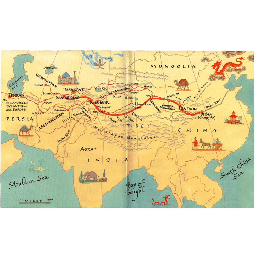 History of the Tea Trade: The Silk Road
