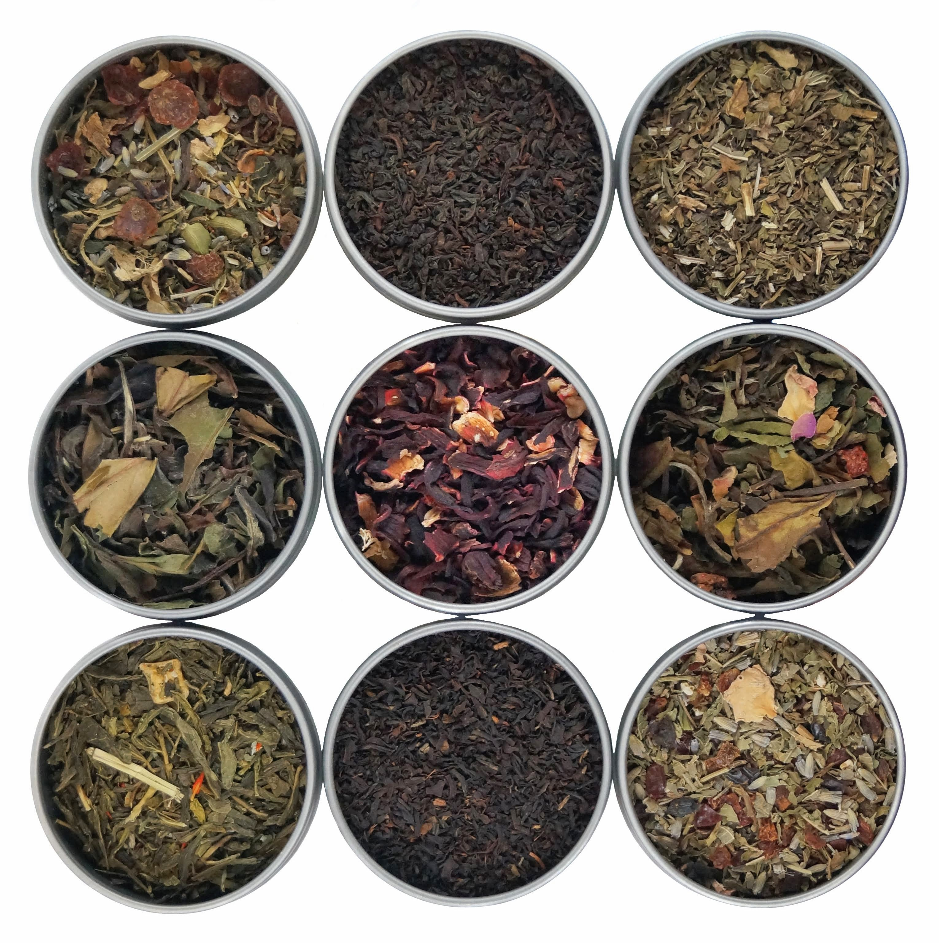 Kosher Tea - Kosher Loose Leaf Tea - Certified Kosher By OU & Earth Kosher - Premium Kosher Teas & Herbal Tisanes - Heavenly Tea Leaves
