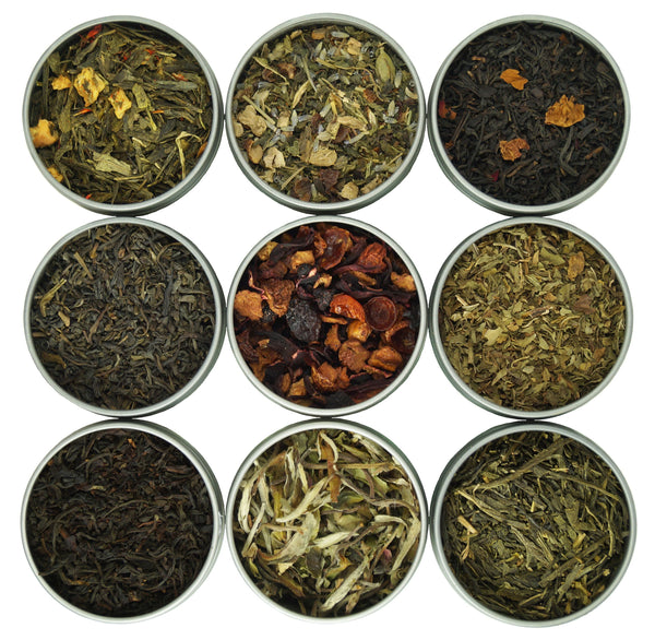 Assorted 9 Loose Leaf Tea Gift Box