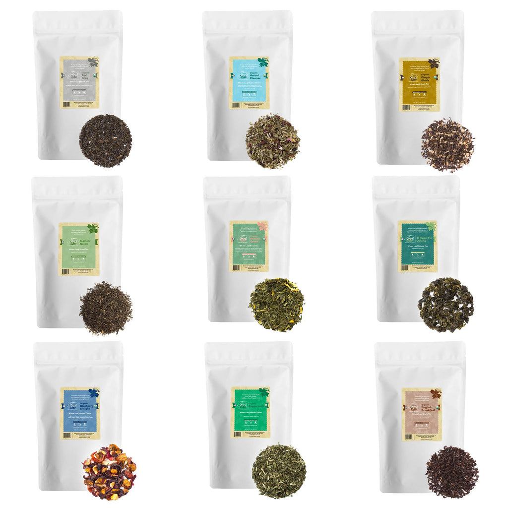 Bulk Restaurant Loose Leaf Tea Starter Set - Food Service - Cafes - Coffee Shops - Heavenly Tea Leaves