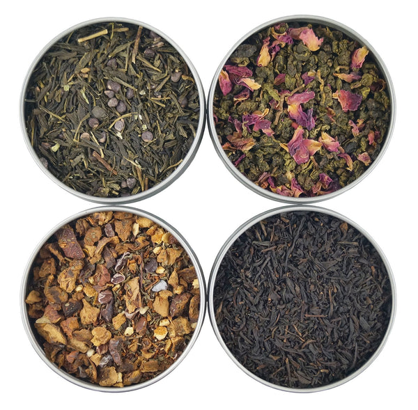 Chocolate Vanilla Tea Sampler