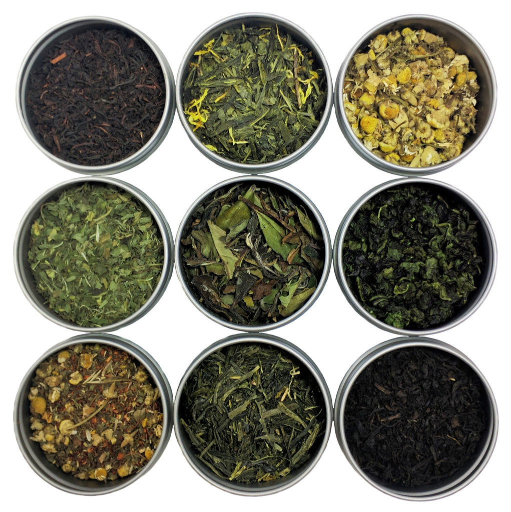 Classic Loose Leaf Tea Sampler, 9 Count