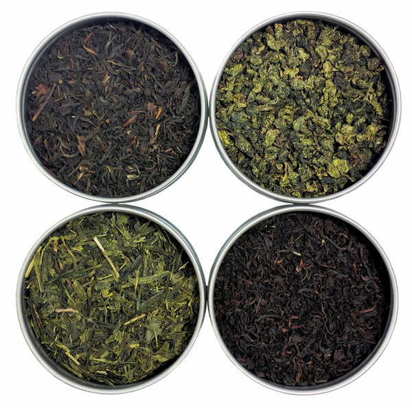 Classic Loose Leaf Tea Sampler, 4 Count