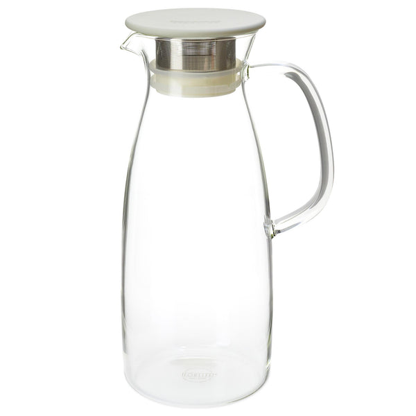 FORLIFE - Mist Iced Tea Jug for Cold Brewing - Great For Loose Leaf Iced Tea, and Fruit Infused Water - Heavenly Tea Leaves