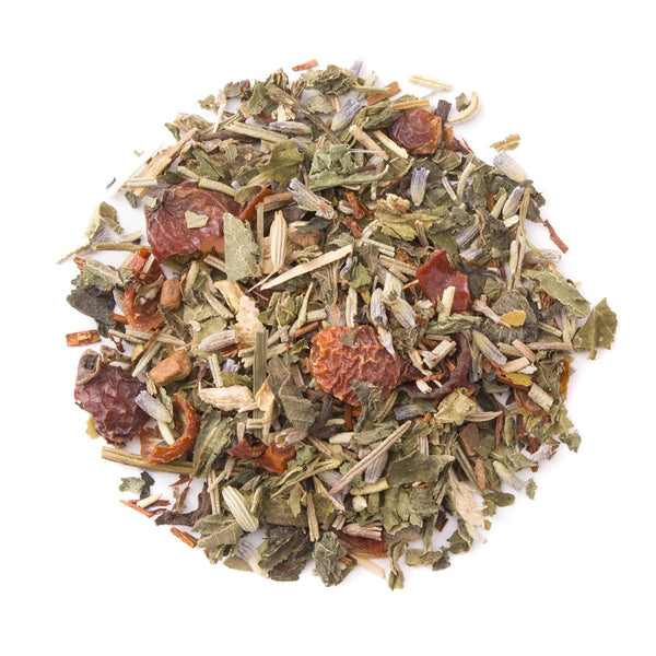 Organic Ginger Jazz, Bulk Loose Leaf Tea & Herb Blend, 16 Oz.