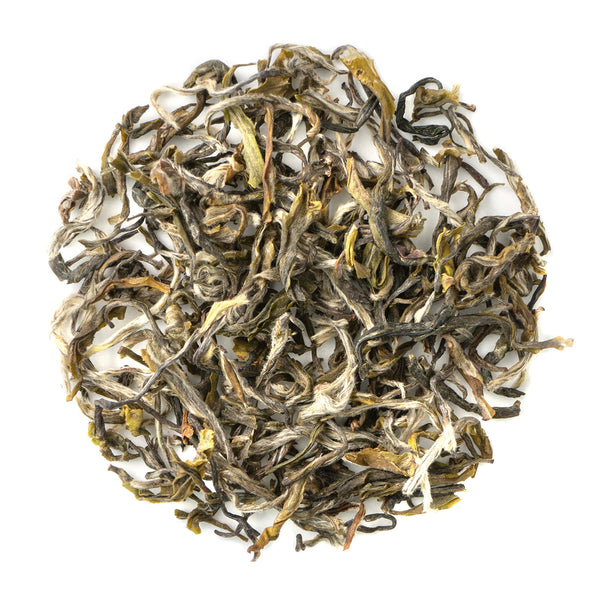 Jasmine Green Superior Grade - Jasmine Mao Feng - Artisanal Loose Leaf Green Tea - Heavenly Tea Leaves