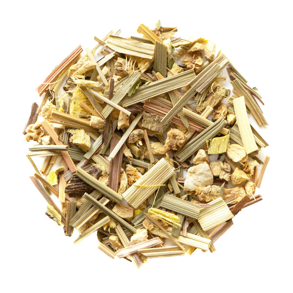 Lemon Ginger - Loose Leaf Herbal Tisane - Stomach Settler - Heavenly Tea Leaves
