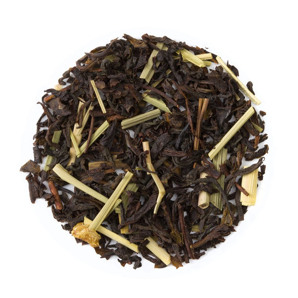 Organic Lemon Twist Tea - Loose Leaf Black Tea - Heavenly Tea Leaves