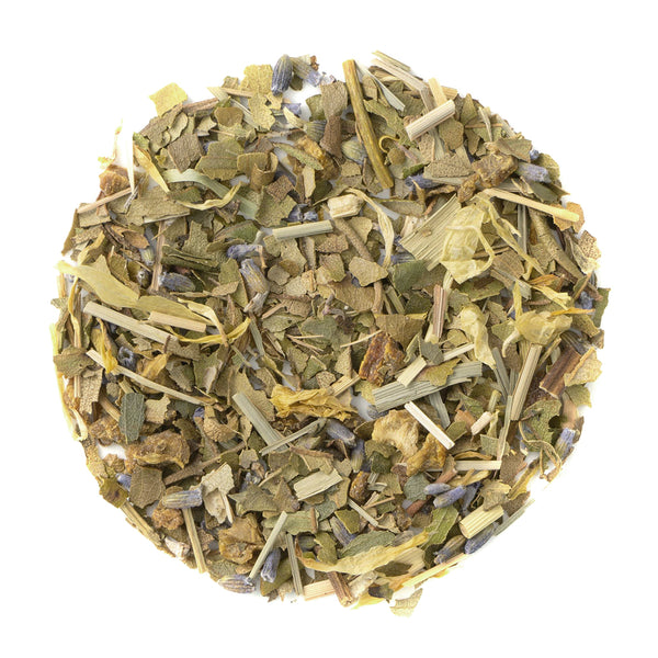 Lemongrass Lavender - Loose Leaf Herbal Tisane - Naturally Caffeine Free - Heavenly Tea Leaves