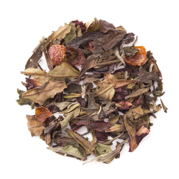 Mangoberry White, Bulk Loose Leaf White Tea, 16 Oz.
