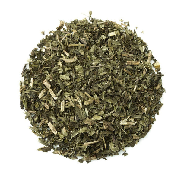 Organic Peppermint Tea Tin - Loose Leaf Herbal Tisane - Great Hot Or Iced - Heavenly Tea Leaves