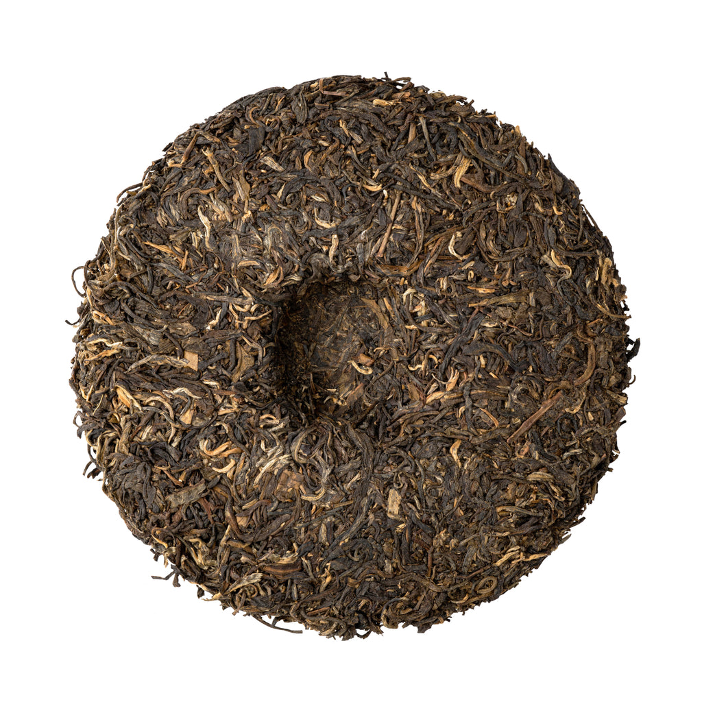 Pu'er Sheng Tea Cake - Dark Fermented Tea - Antioxidant & Probiotic Rich - Wellness Tea - Tea Cake -Heavenly Tea Leaves