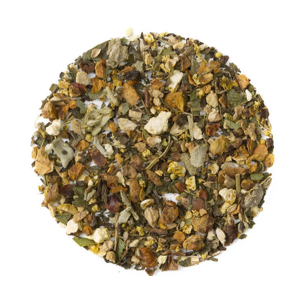 Organic Refresh, Bulk Loose Leaf Herbal Tisane, 16 Oz.