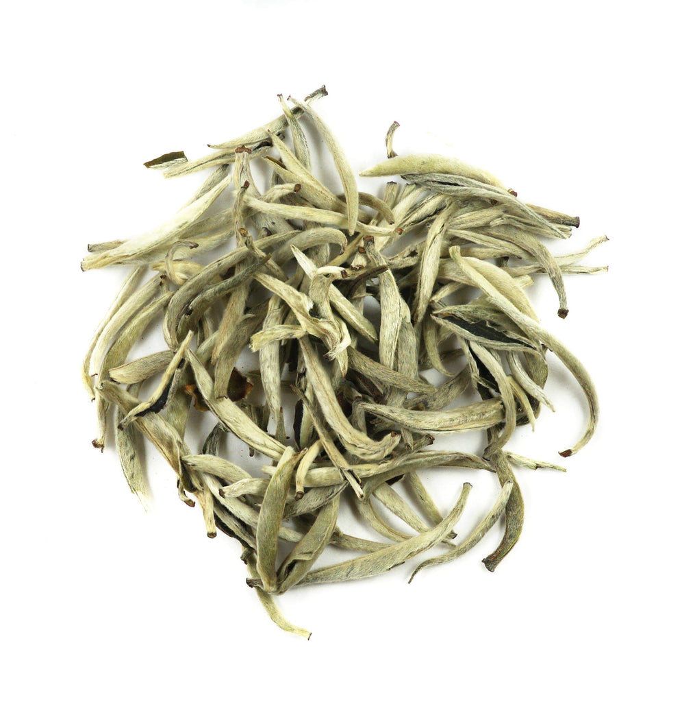 Silver Needle Superior Grade White Tea - Loose Leaf White Tea - Heavenly Tea Leaves