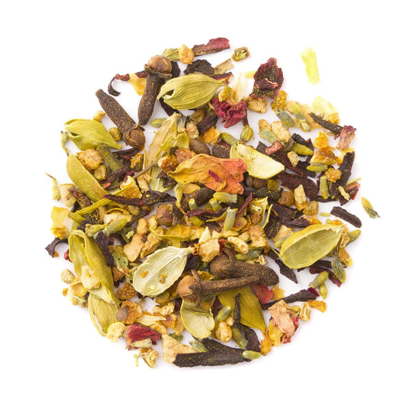 Organic Turmeric Bliss, Bulk Loose Leaf Herbal Tisane, 16 Oz.