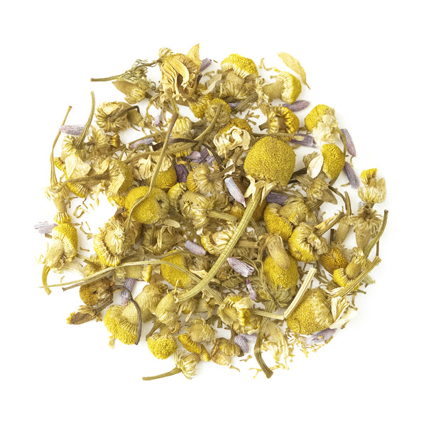 Chamomile Lavender - Loose Leaf Herbal Tisane - Calming & Relaxing - Heavenly Tea Leaves