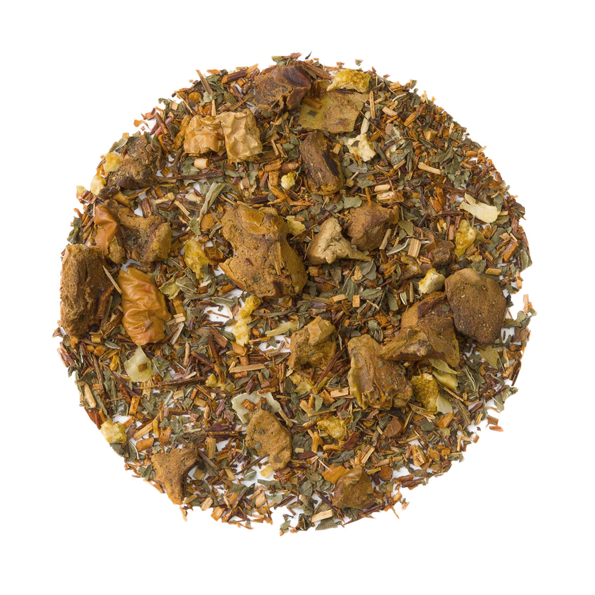 Chocolate Rooibos Mint - Loose Leaf Rooibos Herbal Tisane - Heavenly Tea Leaves
