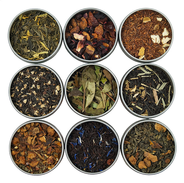 Flavored 9 Tea Sampler