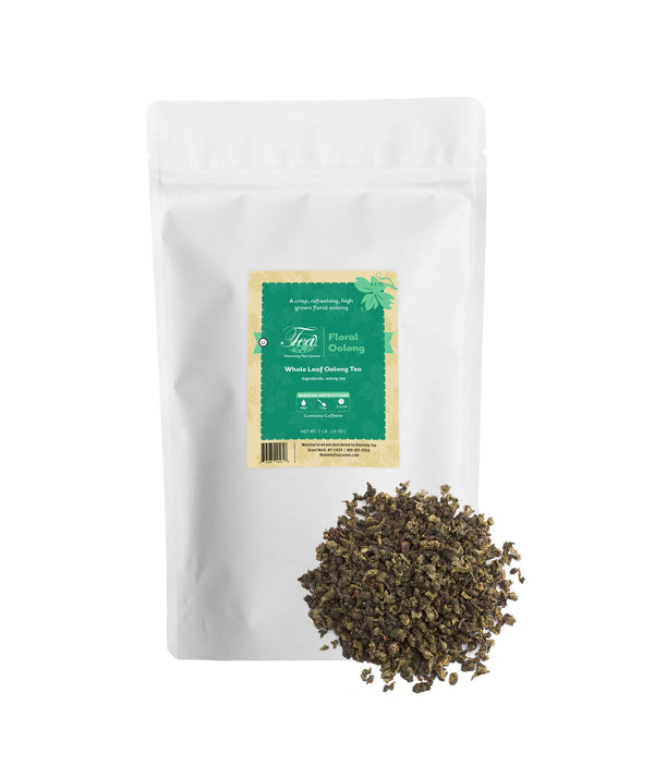 Floral Oolong, Bulk Loose Leaf Oolong Tea, 16 Oz.
