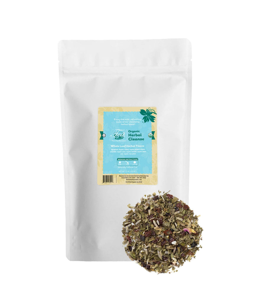 Organic Herbal Cleanse, Bulk Loose Leaf Herbal Tisane, 16 Oz.
