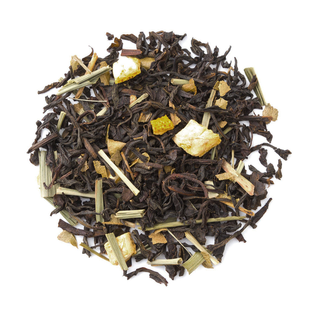 Lemon Black - Loose Leaf Black Tea - Heavenly Tea Leaves