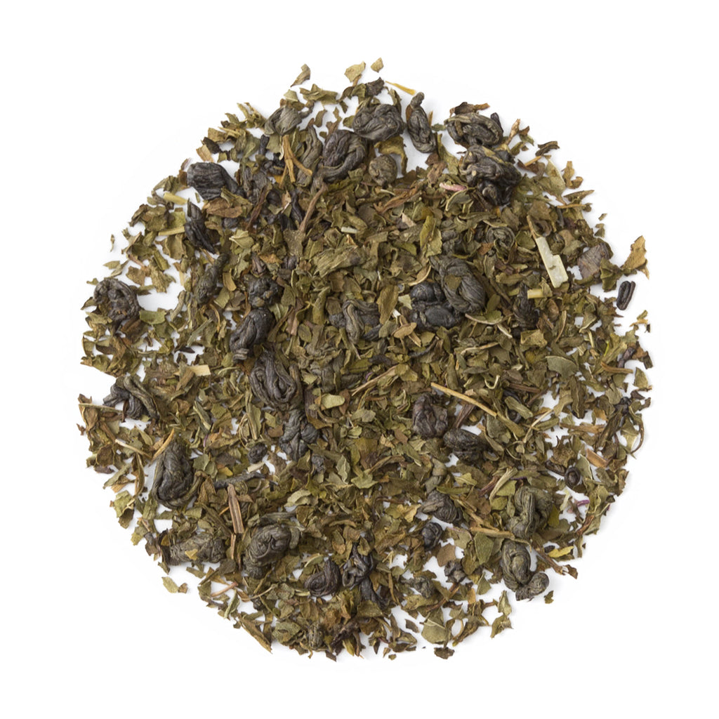 Moroccan Mint - Marrakech Mint - Loose Leaf Green Tea - Heavenly Tea Leaves
