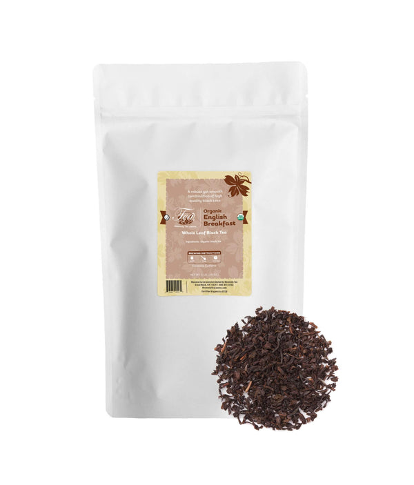 Organic English Breakfast - Bulk Loose Leaf Black Tea - Heavenly Tea Leaves