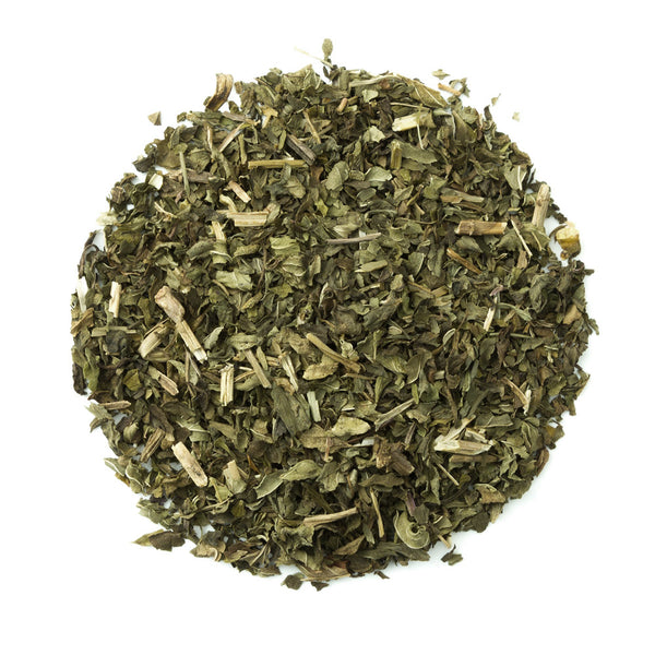 Organic Peppermint - Loose Leaf Herbal Tisane - Grown in Oregon - Heavenly Tea Leaves