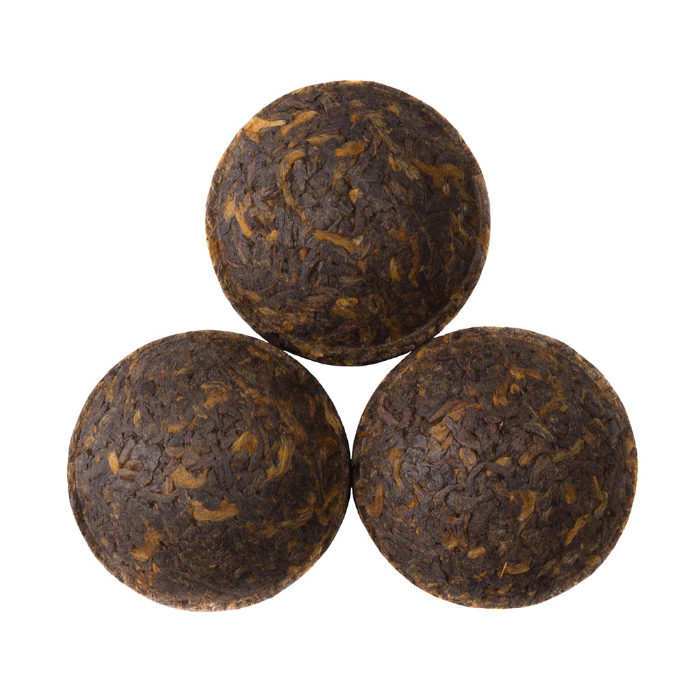 Pu'er Tuo Cha - Loose Leaf Pu-erh Tea - Pu-erh Tea Cake - Fermented Tea - Antioxidant & Probiotic Tea - Heavenly Tea Leaves