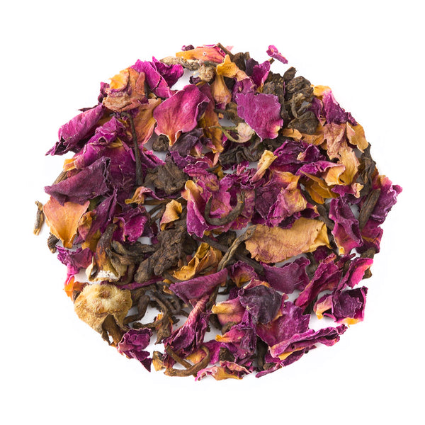 Rose Pu'er - Loose Leaf Pu-erh Tea - Heavenly Tea Leaves