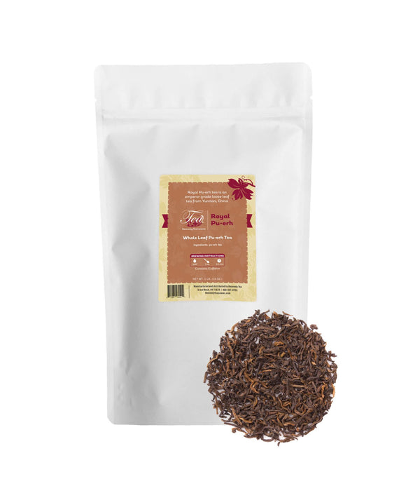 Royal Pu'er - Bulk Loose Leaf Pu-erh Tea - Heavenly Tea Leaves