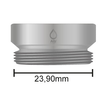M24 male thread with dimensions